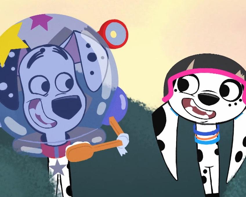 Vita da cani in via Dalmata - Cartoni animati