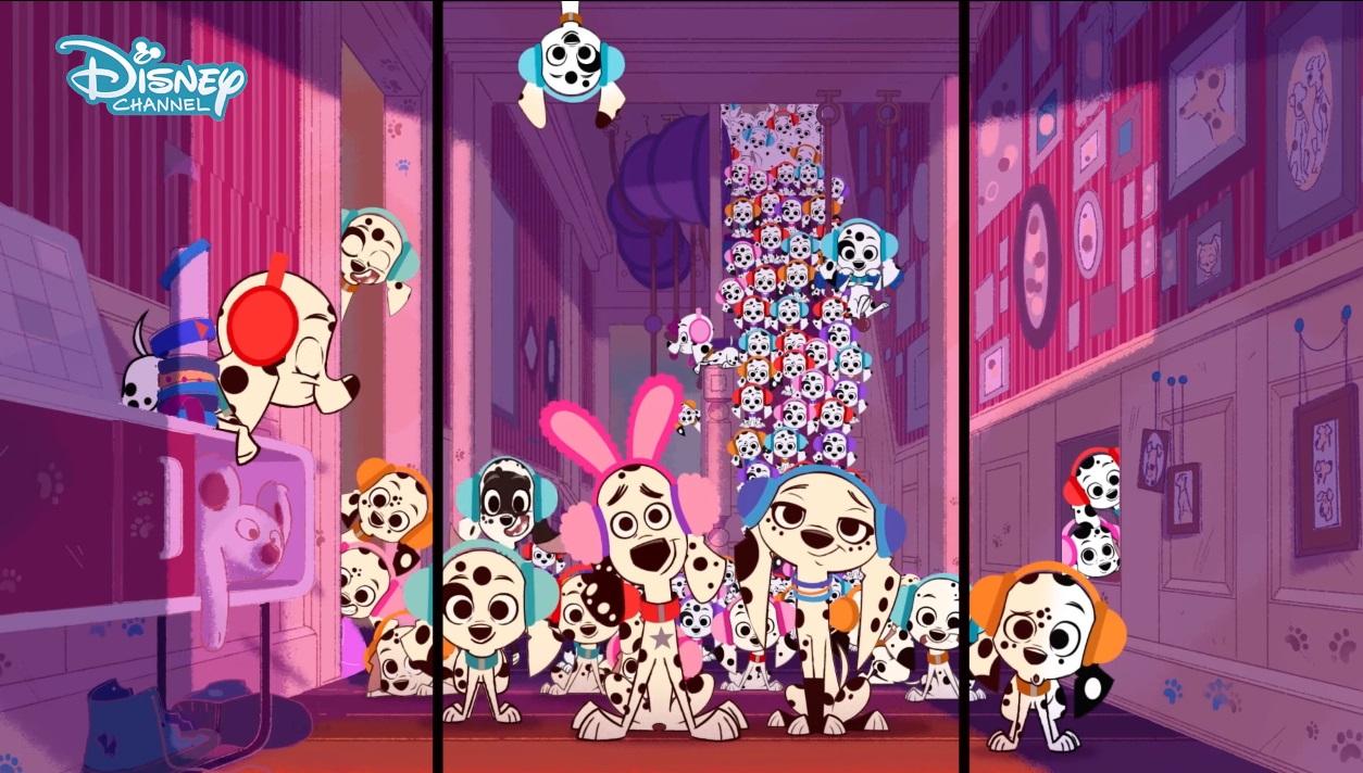 101 dalmatian street cartoni animati Disney - la carica dei 101 - personaggi - doppiatori - episodi - trama