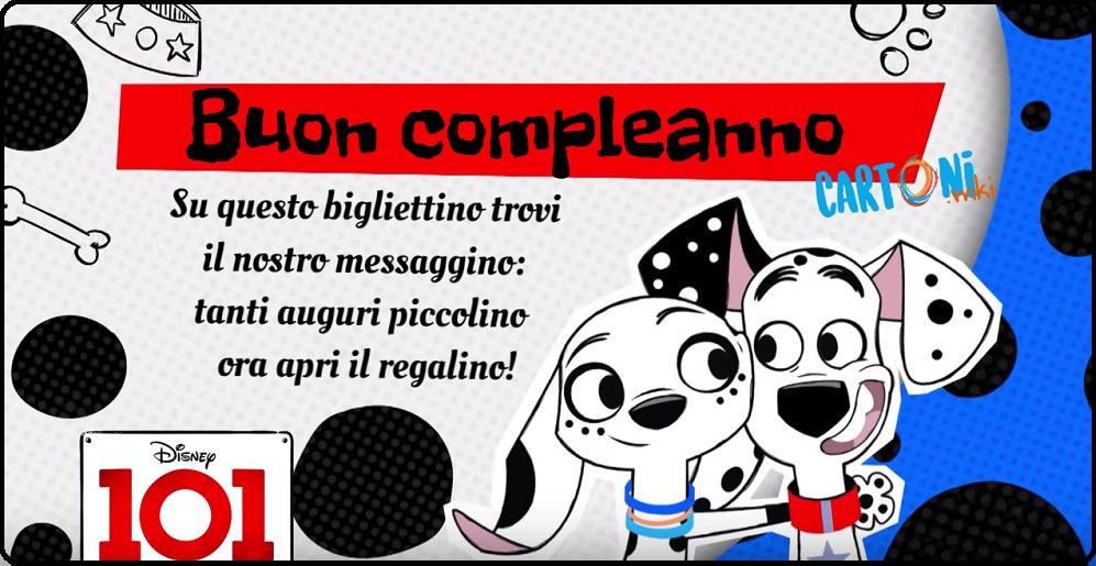 Buon compleanno con 101 dalmatian street - Buon compleanno