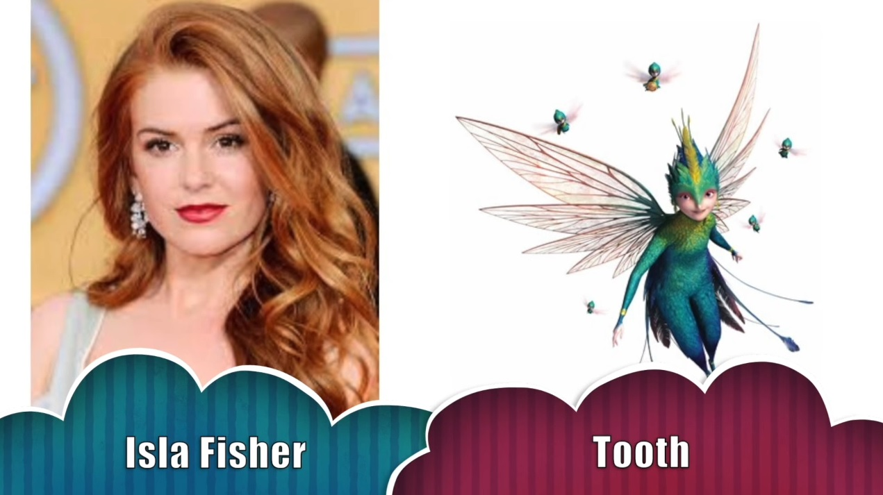 Dentolina - Thoot - Le cinque leggende - The rise of the guardians - Doppiatori originali - Isla Fisher