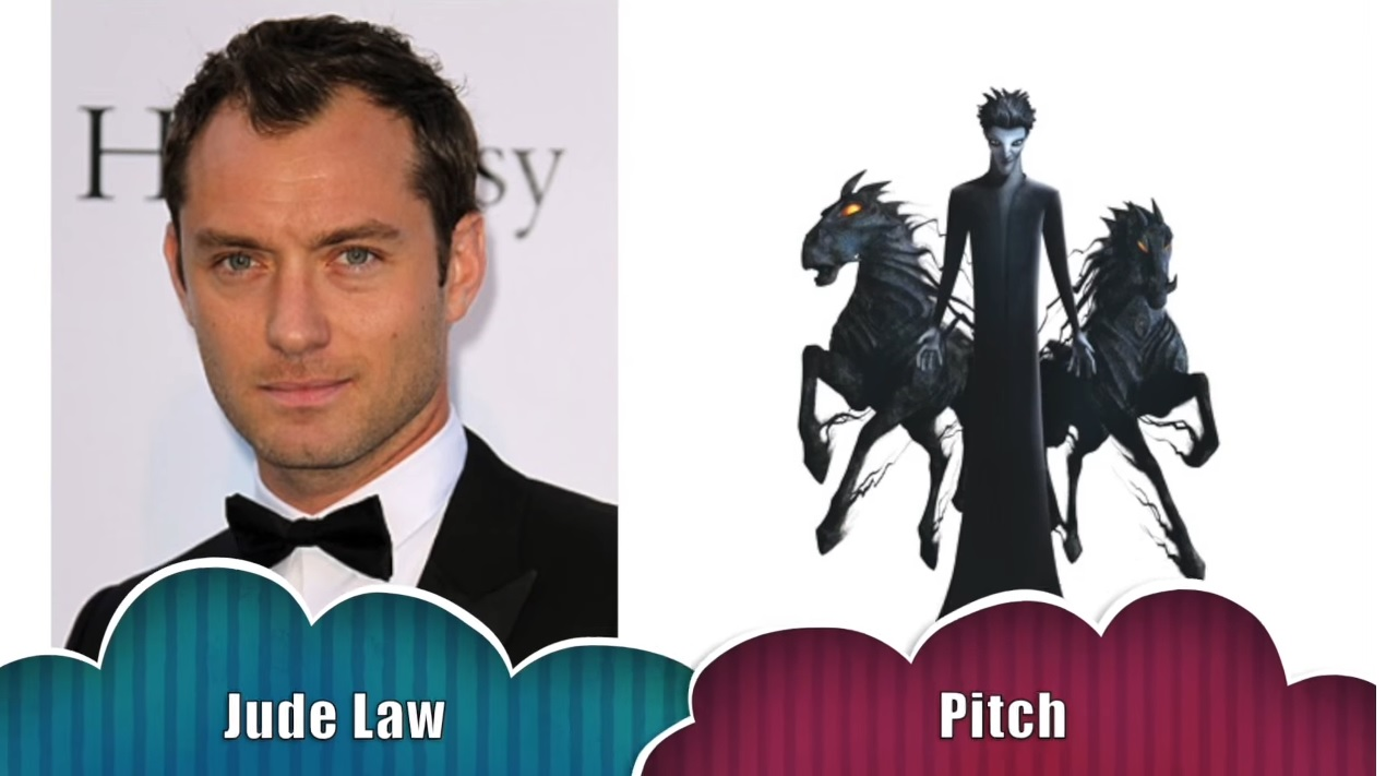Pitch Le cinque leggende - The rise of the guardians - Doppiatori originali - Jude Law