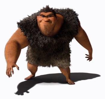 I Croods - The Crood - Grug Crood - Personaggi - Characters - film di animazione - 2013 - DreamWorks