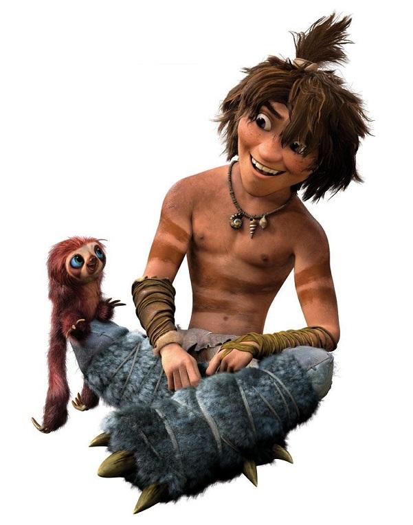 I Croods - The Crood - Guy -  Eep Crood - Personaggi - Characters - film di animazione - 2013 - DreamWorks