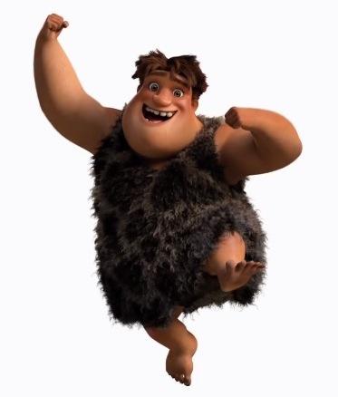 I Croods - The Crood - Tonco Croods - Thunk Crood - Eep Crood - Personaggi - Characters - film di animazione - 2013 - DreamWorks