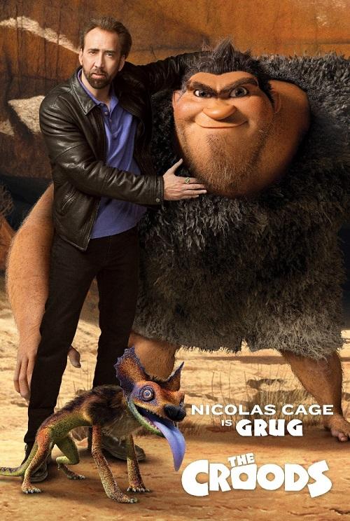 I Croods - Nicolas Cage - Doppiatori originali - Voce di Grug - Grug voice - actor the croods cast