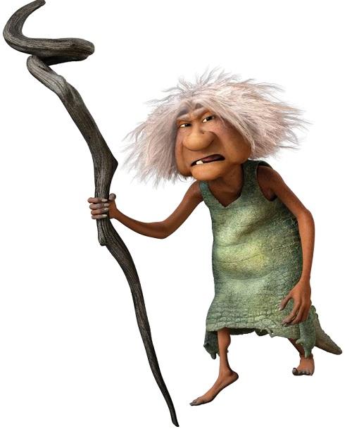 I Croods - The Crood - Gran - Nonna - Personaggi - Characters - film di animazione - 2013 - DreamWorks
