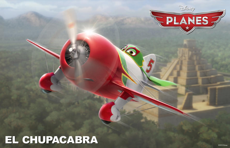 Planes film Disney - El Chupacabra - Disneytoon - Personaggi - Planes Disney Wiki - Planes Disney Film