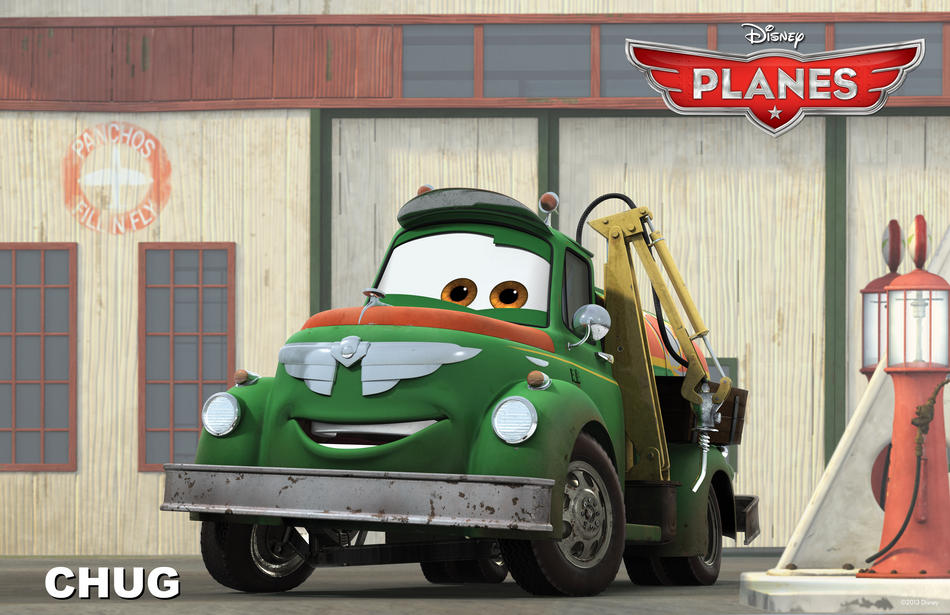 Planes film Disney - Chug - Disneytoon - Personaggi - Planes Disney Wiki - Planes Disney Film