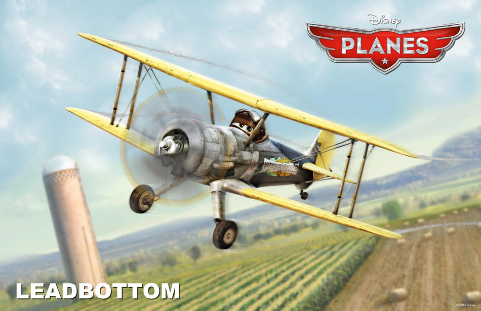 Planes film Disney - Leadbottom - Disneytoon - Personaggi - Planes Disney Wiki - Planes Disney Film