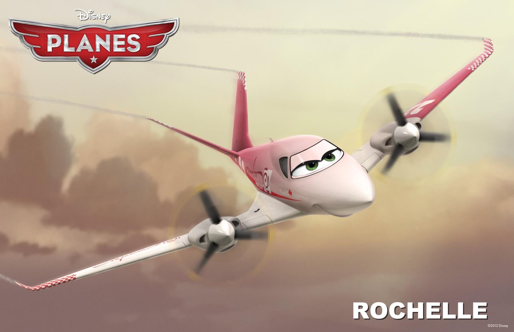 Planes film Disney - Rochelle -Disneytoon - Personaggi - Planes Disney Wiki - Planes Disney Film