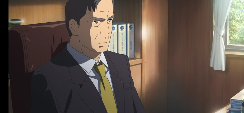You name. film di animazione giapponese 2016 personaggi Toshiki Miyamizu sindaco di itamori