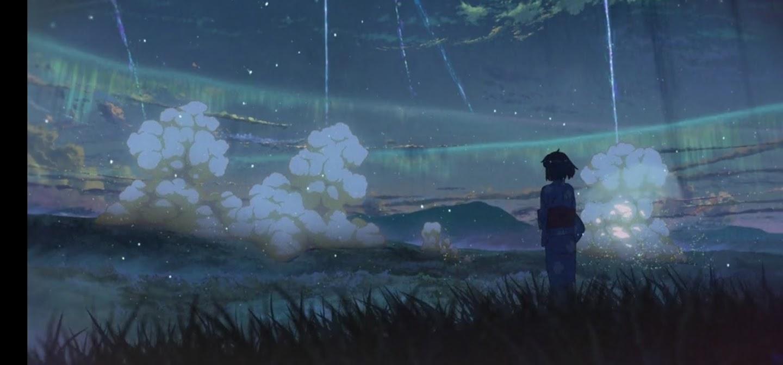 You name. Itamori film di animazione giapponese 2016 cittadina immaginaria