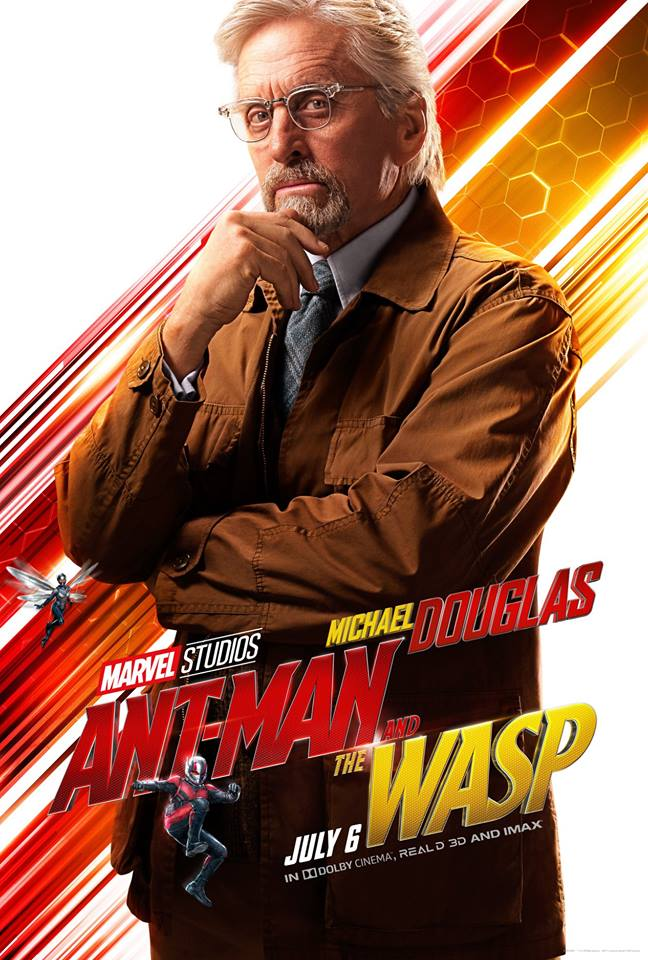 Ant-Man and the Wasp attori film Marvel 2018 Michael Douglas in Hank Pym