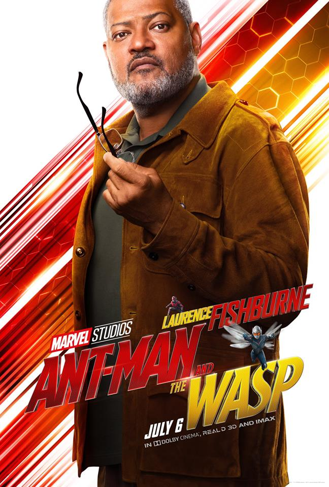 Ant-Man and the Wasp attori film Marvel 2018 Laurence Fishburne in Bill Foster