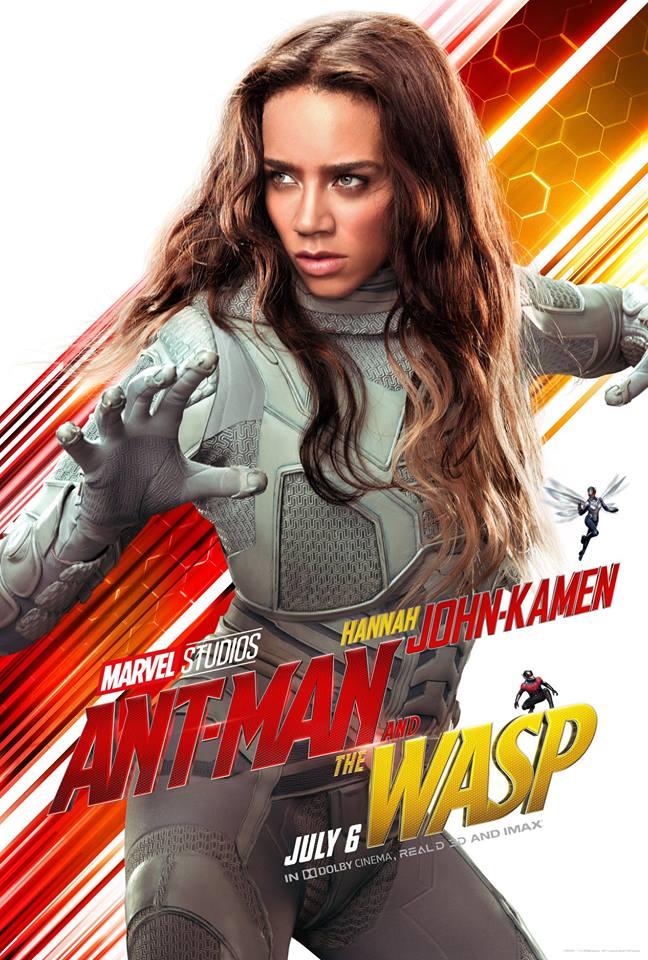 Ant-Man and the Wasp attori film Marvel 2018 Hannah John-Kamen in Ava / Ghost