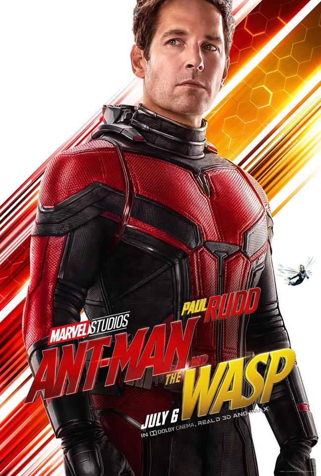 Ant-Man and the Wasp attori film Marvel 2018 Paul Rudd in Scott Lang / Ant-Man