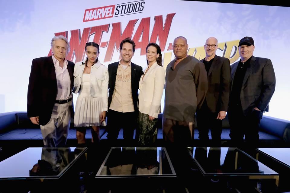Ant-Man and the Wasp attori film Marvel 2018 al cinema a partire dal 14 agosto - Anteprima