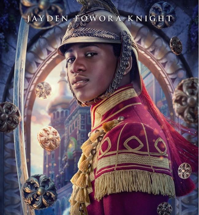 Lo Schiaccianoci e i Quattro Regni -Jayden Fowora Knight - The Nucracker and the Four Realms - Film Disney - anno 2018 - Clara - Mackenzie Foy