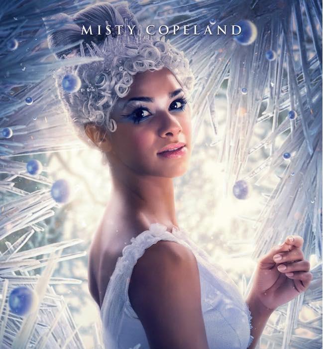 Lo Schiaccianoci e i Quattro Regni - Misty Copeland - The Nucracker and the Four Realms - Film Disney - anno 2018 - Clara - Mackenzie Foy