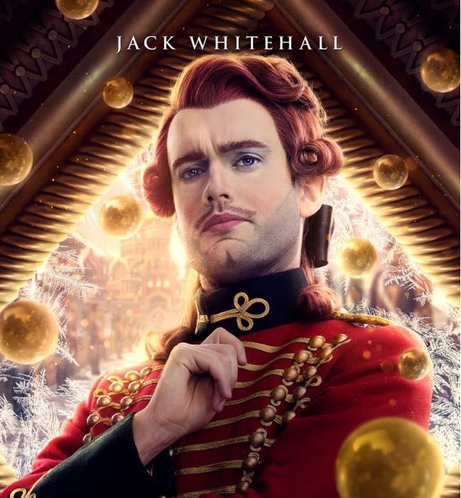 Lo Schiaccianoci e i Quattro Regni - Jack Whitehall - The Nucracker and the Four Realms - Film Disney - anno 2018 - Clara - Mackenzie Foy