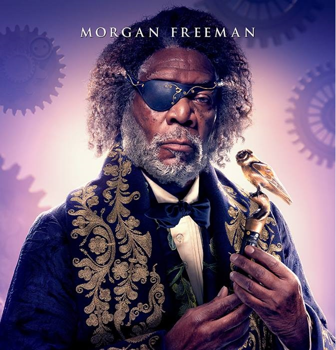 Lo Schiaccianoci e i Quattro Regni - Morgan Freeman - The Nucracker and the Four Realms - Film Disney - anno 2018 - Clara - Mackenzie Foy