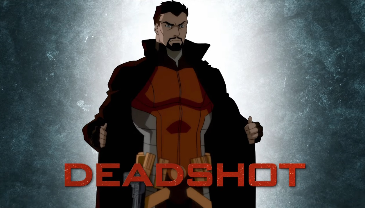 Suicide Squad Un inferno da scontare DeadShot Hell to Pay DC universe film di animazione 2018 Warner Bros. Animation