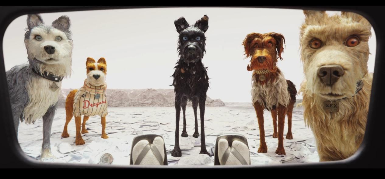 L'isola dei cani film di animazione 2018