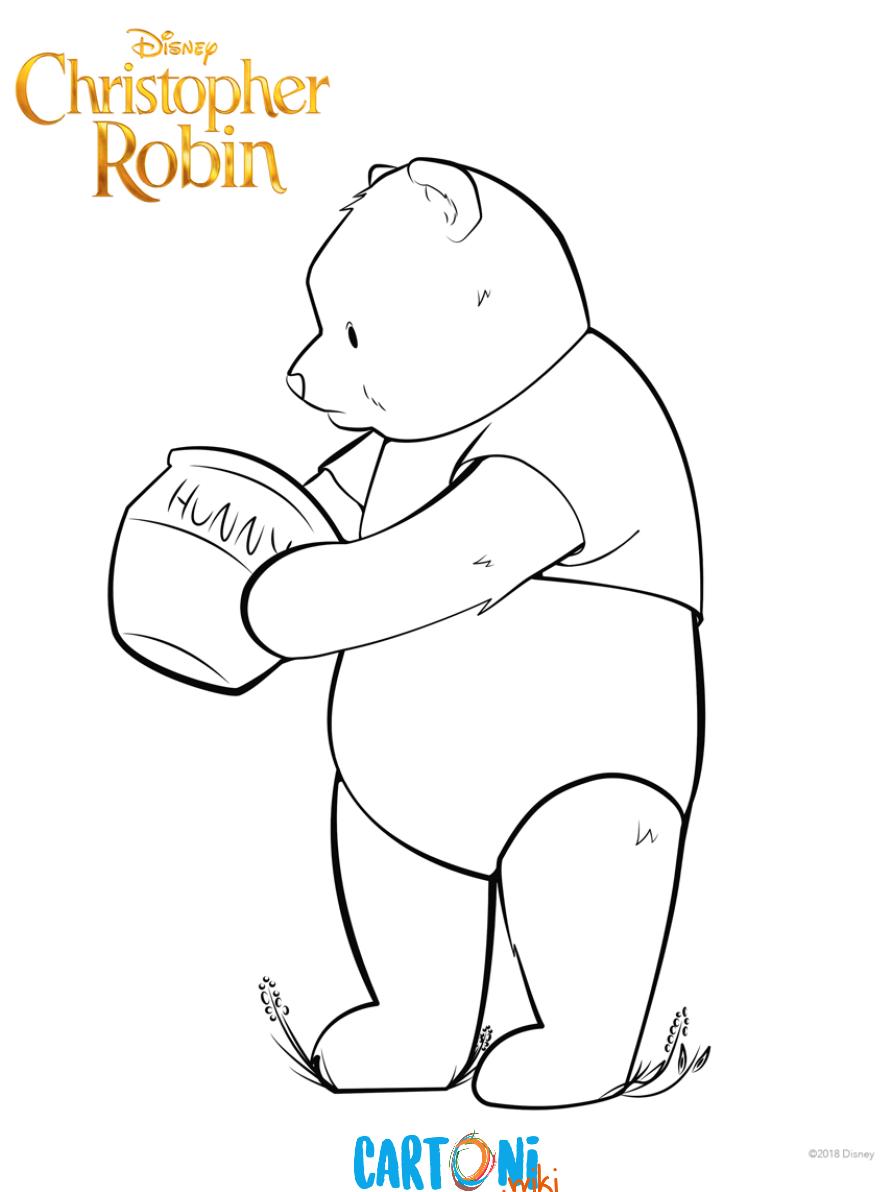 Christopher Robin Coloring pages - Disegni da colorare