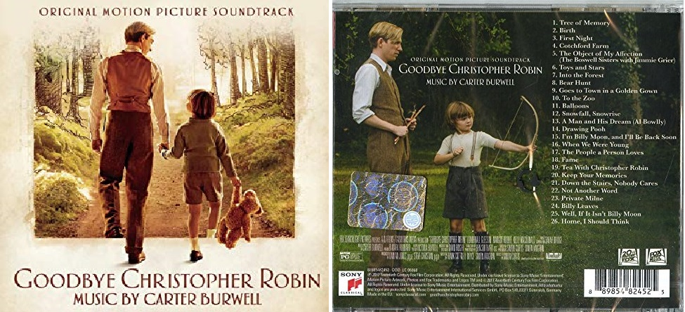Ritorno al bosco dei 100 acri - Winnie The Pooh - Soundtrack - Music - Musica - Canzoni - Colonan sonora - Christopher Robin - Film Live Action Disney 2018
