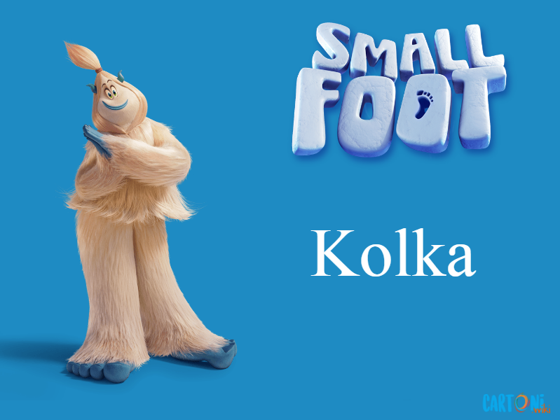 Kolka Persoanggi Smallfoot il mio amico delle nevi - film di animazione 2018 - Warner Bros.