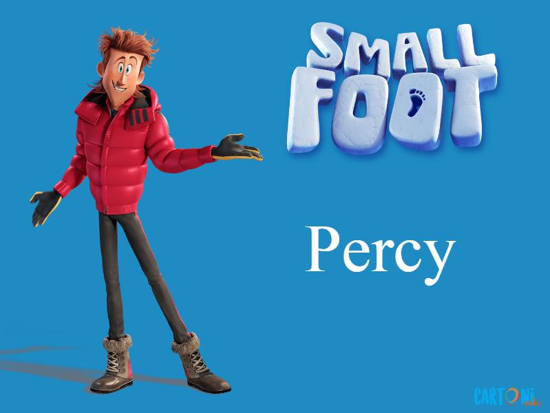 Percy Persoanggi Smallfoot il mio amico delle nevi - film di animazione 2018 - Warner Bros.