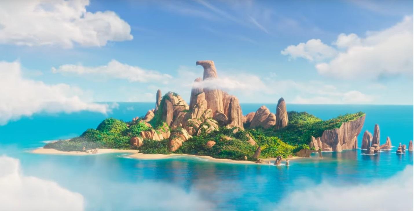 Angry birds 2 Nemici amici per sempre - The Angry Birds Movie 2 - film di animazione 2019 - isola