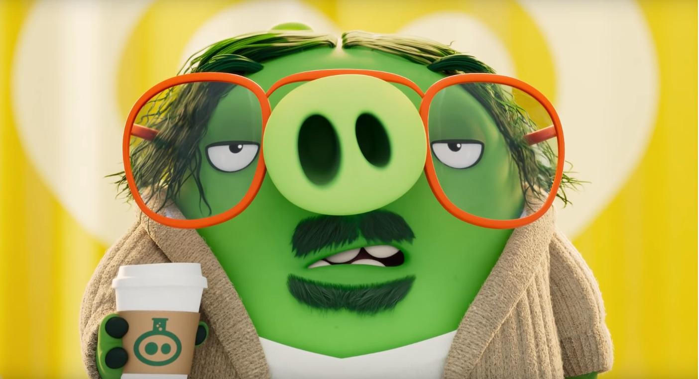 Angry birds 2 Nemici amici per sempre - The Angry Birds Movie 2 - film di animazione 2019 - maiale con occhiali