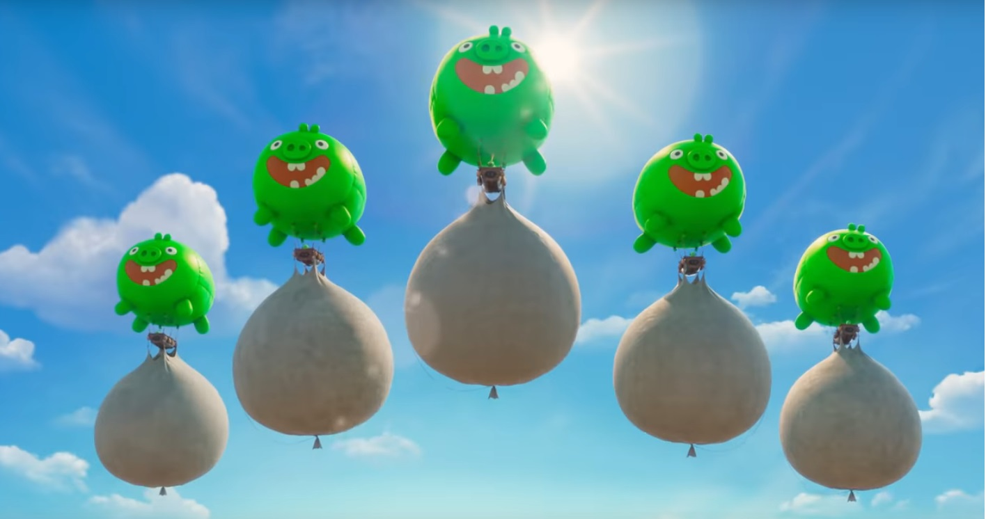 Angry birds 2 Nemici amici per sempre - The Angry Birds Movie 2 - film di animazione 2019 - maiali
