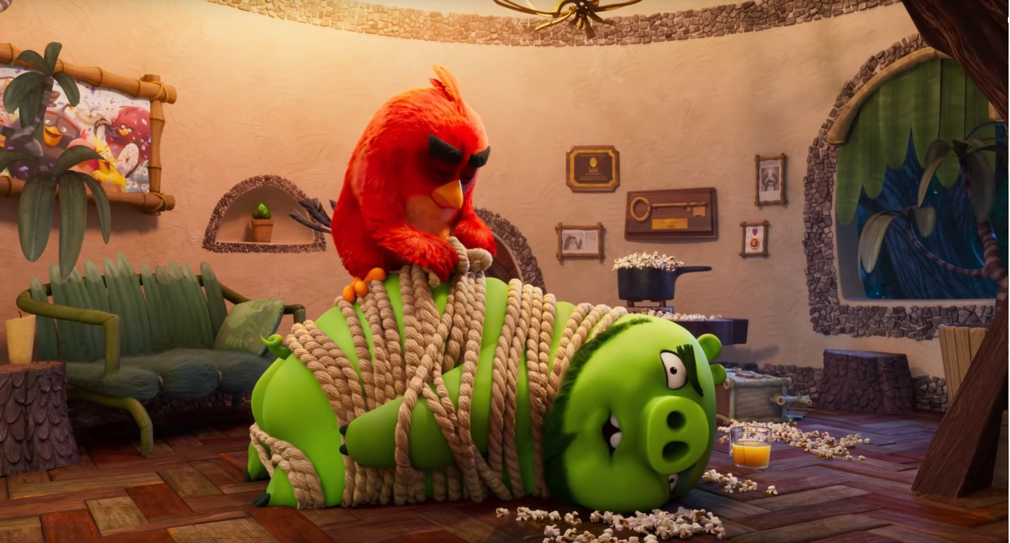 Angry birds 2 Nemici amici per sempre - The Angry Birds Movie 2 - film di animazione 2019 - Red lega maiale
