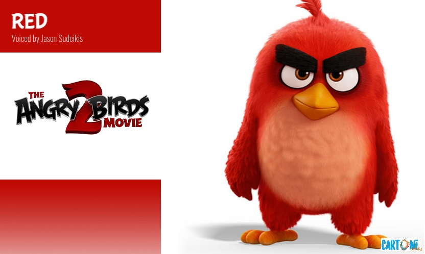 Red - Angry birds 2 il film Amici nemici per sempre - 2 the movie Characters Personaggi - film di animazione 2019 Sony animation pictures
