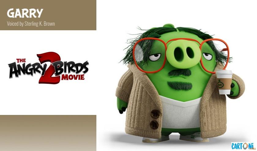 Garry voce originale di Sterling K. Brown - Angry birds 2 il film Amici nemici per sempre - 2 the movie Characters Personaggi - film di animazione 2019 Sony animation pictures