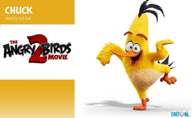 Chuck - Angry birds 2 il film Amici nemici per sempre - 2 the movie Characters Personaggi - film di animazione 2019 Sony animation pictures