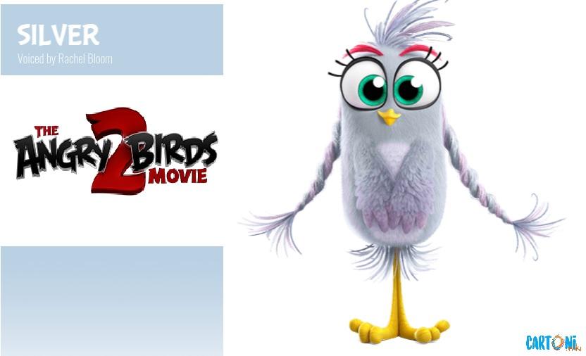 Silver - Angry birds 2 il film Amici nemici per sempre - 2 the movie Characters Personaggi - film di animazione 2019 Sony animation pictures
