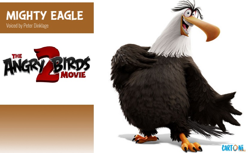 Mighty Eagle - Angry birds 2 il film Amici nemici per sempre - 2 the movie Characters Personaggi - film di animazione 2019 Sony animation pictures