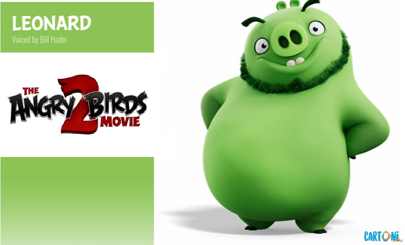 Leonard - Angry birds 2 il film Amici nemici per sempre - 2 the movie Characters Personaggi - film di animazione 2019 Sony animation pictures