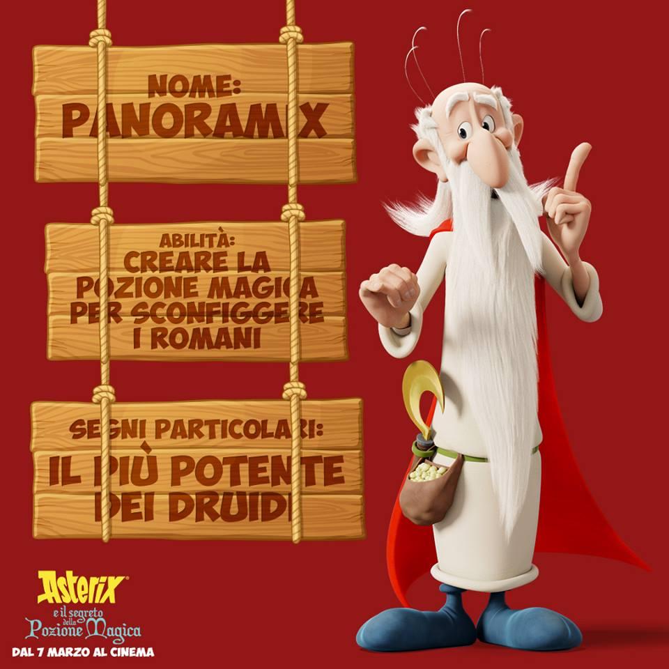 Panaromix personaggi Asterix e il segreto della pozione magica - Film di animazione 2019 - 7 marzo 2019 - personaggi - trama -doppiatori -  Astérix: Le Secret de la Potion Magique