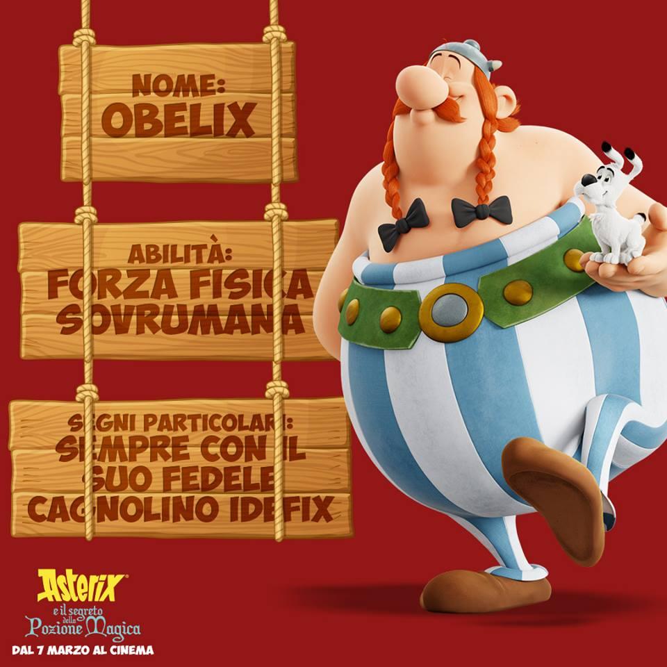 Obelix personaggi Asterix e il segreto della pozione magica - Film di animazione 2019 - 7 marzo 2019 - personaggi - trama -doppiatori -  Astérix: Le Secret de la Potion Magique