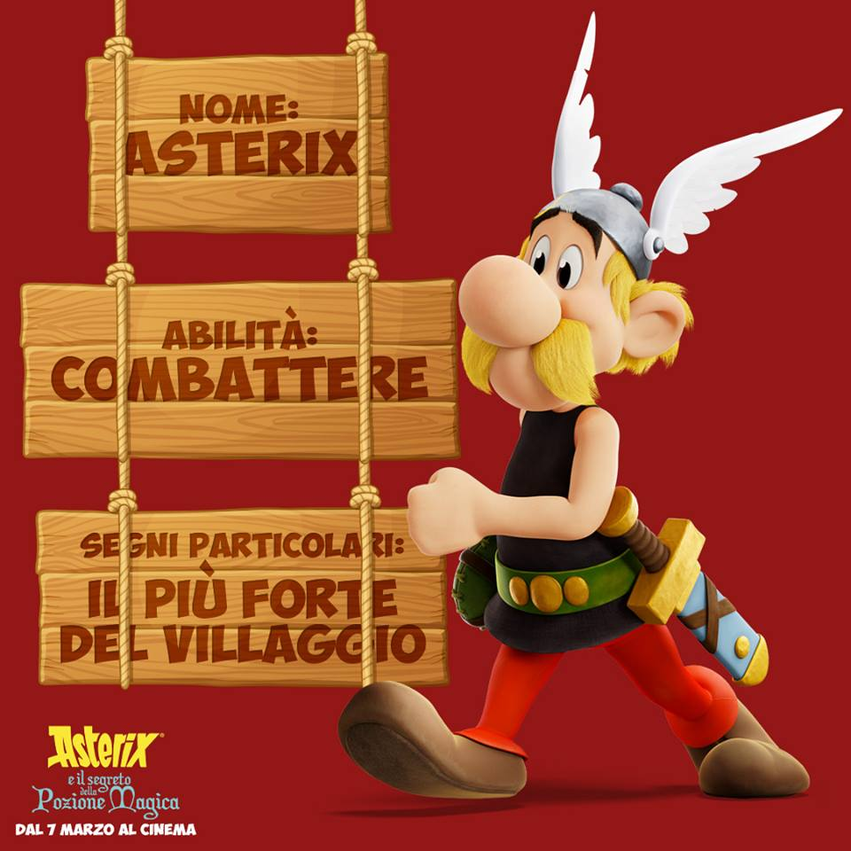 Asterix personaggi Asterix e il segreto della pozione magica - Film di animazione 2019 - 7 marzo 2019 - personaggi - trama -doppiatori -  Astérix: Le Secret de la Potion Magique