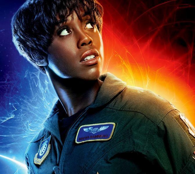 Lashana Lynch - Maria Rambeau  - Captain Marvel - Film Marvel 2019 - REgia  Anna Boden e Ryan Fleck - Trama - personaggi - recensione