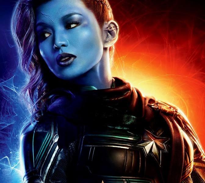 Gemma Chan come Minn-Erva  - Captain Marvel - Film Marvel 2019 - REgia  Anna Boden e Ryan Fleck - Trama - personaggi - recensione
