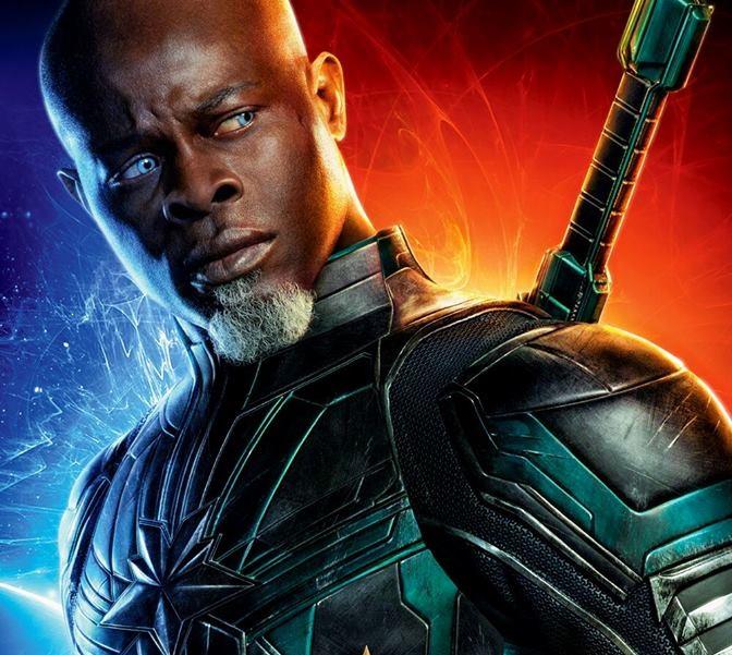 Djimon Hounsou come Korath - Captain Marvel - Film Marvel 2019 - REgia  Anna Boden e Ryan Fleck - Trama - personaggi - recensione