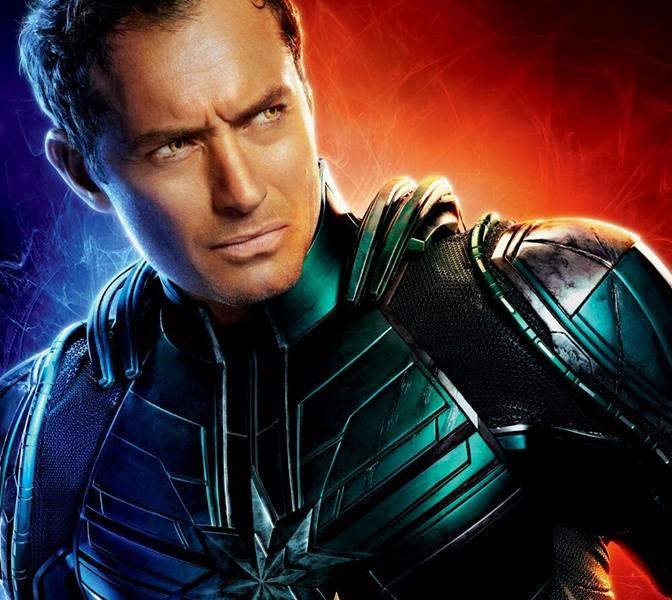 Jude Law nei panni di Yon-Rogg  - Captain Marvel - Film Marvel 2019 - REgia  Anna Boden e Ryan Fleck - Trama - personaggi - recensione