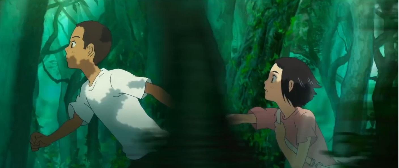 Children of the sea film di animazione 2019 - film per tutte le età - film famiglia - Anima giapponese