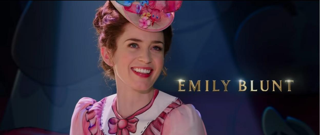 Il ritorno di Mary Poppins - Cast - Attori - Emily Blunt - Film Disney 2018 - Film Disney Natale